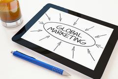 Global Marketing Stock Illustration
