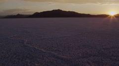 Utah Salt Flats Stock Footage