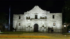 San Antonio, The Alamo  Stock Footage