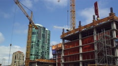 Buildings and Construction in San Francisco Stock Footage