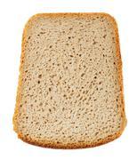 Brown bread slice Stock Photos