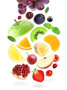 Stock Photo of Color fruits and berries