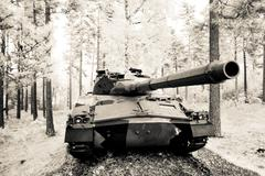 Tank Destroyer IKV 91 Stock Photos
