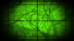 Sniper Scope, and Flyer Camera Stock Footage