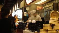 Japanese restaurant in Tuen Mun Hongkong Times Square Stock Footage