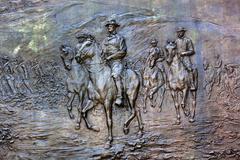General Sherman Civil War Memorial Washington DC - stock photo