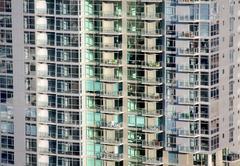 Downtown Apartments - stock photo