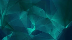 Geometric poly shapes abstract motion background 4 Stock Footage