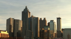 Static shot of the Atlanta Skyline. Stock Footage