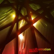 Dark abstract vector background, fantasy illustration eps10 Stock Illustration
