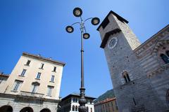 Como City in Lombardy, Italy - stock photo