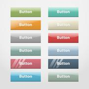 Web buttons.Part I Stock Illustration