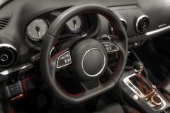 Luxury car interior angle shot Kuvituskuvat