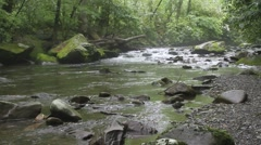 River in smokey mountains Stock Footage