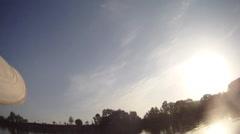 river, kayaking, paddle - stock footage
