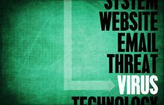 Virus Stock Illustration