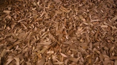 Abstract Leather Texture Stock Footage