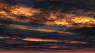 Stock Video Footage of Time lapse sunsetting clouds - Cloud FX0601 HD, 4K