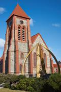 Falkland Islands Cathedral - stock photo