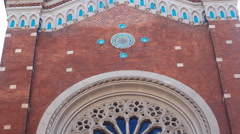 St. Anthony of Padua Church in Istanbul - stock footage