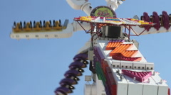 Oktoberfest Ride - stock footage