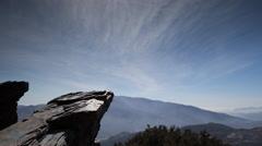 Las alpujarras spain granada mountains timelapse 4k Stock Footage