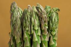 Fresh Organic Asperagus - stock photo