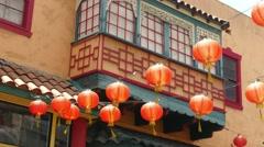 4K Chinese Lanterns Stock Footage