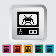 Stock Illustration of Retro Arcade Machine