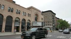 Village East Cinemas in New York City Stock Footage