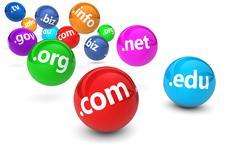 Domain Name Website Concept - stock illustration