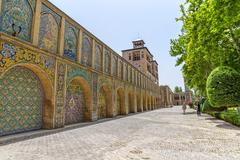 Stock Photo of Golestan Palace Edifice of the Sun buildings