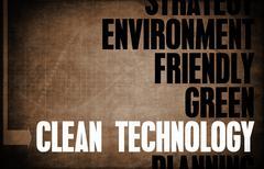 Clean Technology Stock Illustration