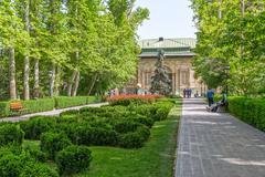 Tehran Green Palace Museum in the park Kuvituskuvat