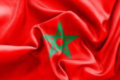 Morocco Flag Stock Illustration