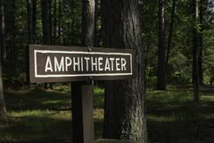 Amphitheater Sign Stock Photos