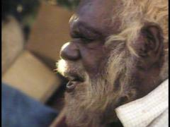 ABORIGINAL CULTURE, CEREMONY/CHANTING (1980S) Stock Footage