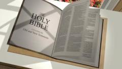 Custom 3D Bible - stock after effects