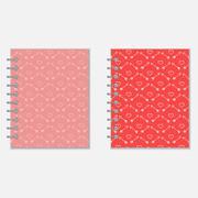 Love diary design - stock illustration