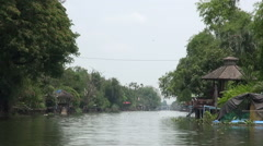 Asian River Journey- 6 Stock Footage