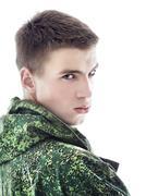 Military Man Portrait Stock Photos