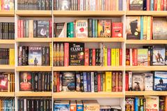 Famous Classic Literature Books For Sale - stock photo