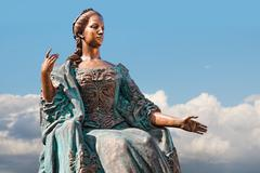 Statue of Empress Maria - stock photo