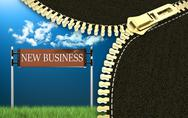 Stock Illustration of New business