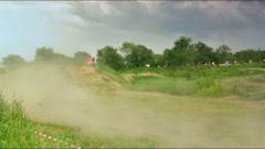 Motocross championship Stock Footage