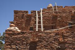 Southwestern Hopi House 1905 Architecture Abstract Stock Photos