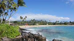 Napili Beach, Maui, Hawaii Stock Footage