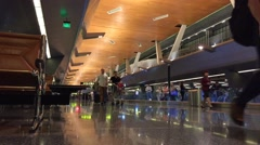 Stock Video Footage of Time-lapse of busy airport
