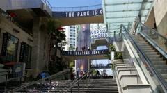 4K Hollywood Highland Stock Footage