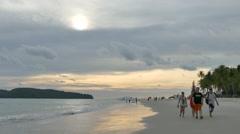 Pantai Cenang Langkawi Stock Footage